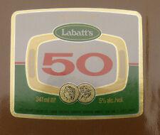 VINTAGE CANADIAN BEER LABEL - LABATTS BREWERY, 50 ALE #6