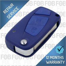 Fiat Panda Punto Ducato Stilo Bravo 3 Button Remote Key Fob Repair Fix Service