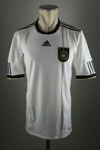 Deutschland Trikot 2010 Gr. L Techfit Adidas DFB Home WM Shirt Germany 3 Sterne