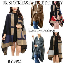 Polyester Oversize Scarves & Wraps for Women