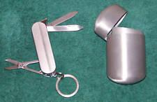 BRAND NEW - POCKET KNIFE / LIGHTER & POCKET ASHTRAY