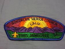 MINT 1985 JSP Southern Sierra Council