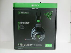 RAZER NARI ULTIMATE WIRELESS GAMING HEADSET FOR XBOX ONE / PC BOXED - {R:8TD}