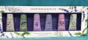 Crabtree & Evelyn London Hand Therapy Gift Set Of 6 NIB