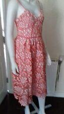 Shopaholic pale orange Coral Nude Dress BNWT size 10 xs