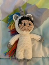 Crocheted Unicorn Astro
