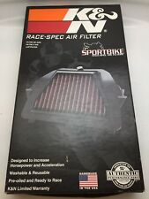 Genuine K&N Air Filter SU7506R Made In USA Cleaner Suzuki GSXR600 GSXR750