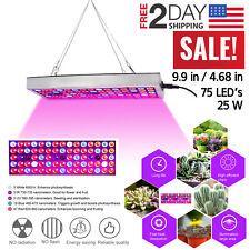 LED Grow Light 75 LED UV IR Growing Lamp Indoor Plants Hydroponic Full Spectrum