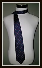 Brooks Brothers Makers Christmas Ornaments Holiday Blue Men's Necktie