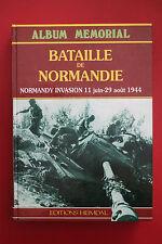 *RARE* BATAILLE DE NORMANDIE 11 June - 29 August 1944 Editions Heimdal HC 1993