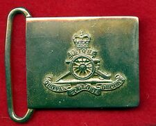 "Royal Canadian Army ""Artillery Regiment"" Belt Buckle Post 1952"