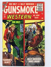 Gunsmoke Western #34 Atlas 1956 Matt Baker-Art