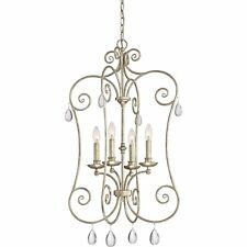 Quoizel Lighting Chantelle Extra Large Cage Chandelier - Vintage Gold CNT5204VG