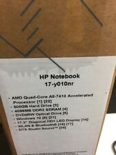 "NEW HP 17-y010nr Notebook Laptop 17.3"" AMD Quad-Core A8-7410 APU 4GB DDR3L"
