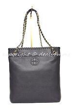 NWT Tory Burch Marion Black Leather Swingpack Messenger Shoulder Crossbody  Bag a1866ed1fe