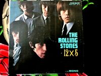 ROLLING STONES VINYL LP 12x5 LONDON RED LABEL MONO GREAT COVER LITTLE SEAM WEAR