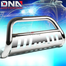 FOR 09-15 HONDA PILOT CROSSOVER STAINLESS STEEL CHROME BULL BAR PUSH GRILL GUARD
