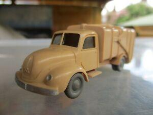 vintage plastic wiking bin truck with bins