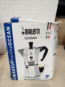 Bialetti Moka Express Italian Stovetop 6 Cup Espresso Coffee Maker (Open Box)