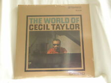 World of CECIL TAYLOR Archie Shepp Buell Neidlinger Dennis Charles SEALED LP