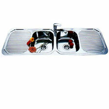 Double Bowl / Double Drainer Sink