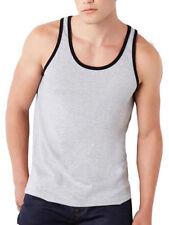 Crew Neck Basic Big & Tall Sleeveless T-Shirts for Men