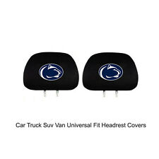 New Team ProMark NCAA Penn State Nittany Lion Head Rest Covers For Car Truck Suv