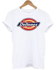 T SHIRT DEFTONES  maglietta cotone moda idea regalo music alternative metal S-XL