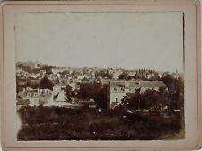Poitiers Vue prise du chemin Jambe France Photographie Vintage Citrate 1901