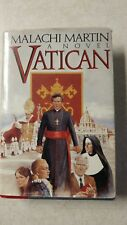 VATICAN: A NOVEL By Malachi Martin - Hardcover *Pre-Owned* Free Shipping