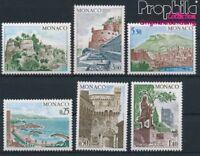 Monaco 1148-1153 postfrisch 1974 Bauwerke (8940414