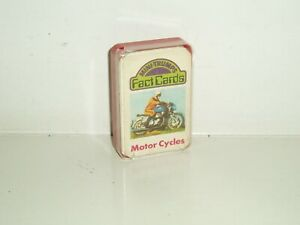 """Vintage Top  Trumps Fact cards Dubreq """"Motor Cycles"""" 1978-80."""