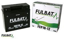 Rasentraktor wartungsfreie SLA-GEL Fulbat Batterie FCP18-12