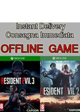 Resident Evil 3 e 2 Bundle Xbox One Download NO code NO cd Leggi Descrizione