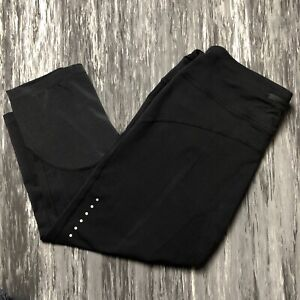 NIKE Epic Lux Running Knee Length Crops Black XL Extra Large