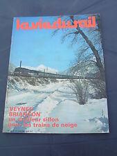 vie du rail 1979 1678 PRELLES L'ARGENTIèRE LA BESSéE MONTDAUPHIN GUILLESTRE GAP
