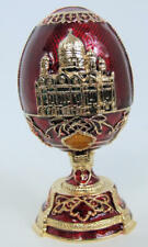 Russian Replica Faberge egg featuring the Old Depository Building, Fe_002