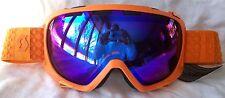 NEW $110 Scott FIX Mens RARE Orange Winter Snow Ski goggles Smith Blue lens