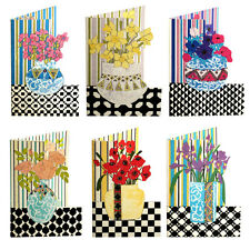 150  Poppies, Iris, Roses, Anemones, Daffodils & Pinks Die-cut Gift Cards EG0029