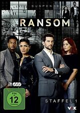 3 DVDs * RANSOM - SEASON / STAFFEL 1 # NEU OVP §