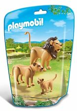 Playmobil 6642 city life zoo famille lion