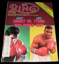 BOXING MIKE TYSON 1986 GERRY COONEY COVER FEATURE RING MAGAZINE