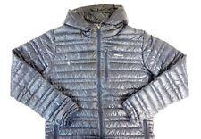 NWOT PATAGONIA Men's Navy Blue Ultralight Down Hoody Zip Front Jacket Medium