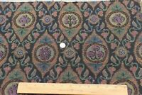 """Antique c1920 French Cotton Jacquard Tapestry Fabric Sample~L-13"""" X W-20"""""""