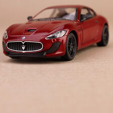 2013 Red Maserati GT Gran Tursimo Sports Car Model 1:38 Die-Cast Pull-Back