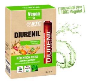 STC Diurenil Liquid Against Water Retention And Swolled Legs Vegan 10 x 10 ml
