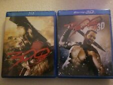 New & Sealed Blu Ray Lot Of Two (2) ~ 300 and 300: Rise Of An Empire 3D