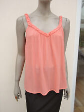 Roxy - Light Peach Crinkle Strappy Suntop - size XS (8/10/12)