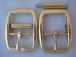 "5ea 1"" Repair Buckle Zinc Diecast Brass Plate Z162RBP"