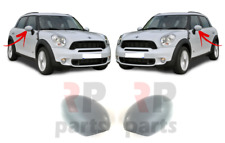 FOR MINI COOPER COUNTRYMAN 10-16 WING MIRROR COVER CAP POWERFOLD PAIR SET L&R